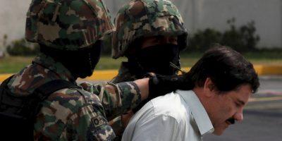 El narcotraficante mexicano fue capturado en febrero de 2014 y escapó 505 días después, el 11 de julio de 2015. Foto:AFP