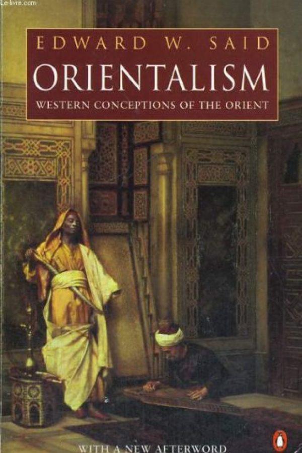 """Orientalismo"" de Edward Said Foto:Wikimedia.org"