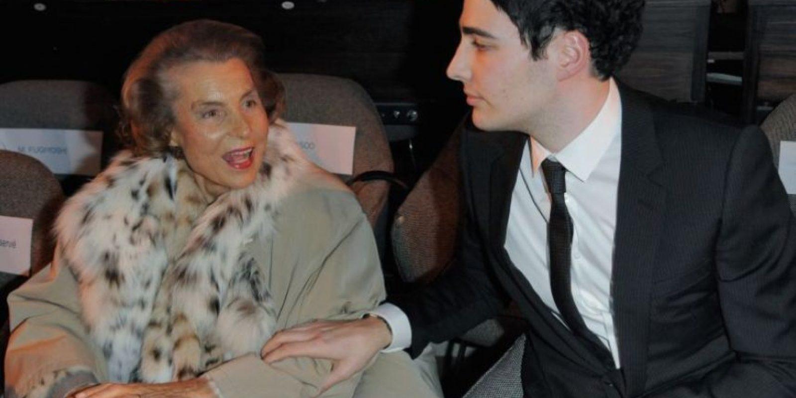 2. Liliane Bettencourt, de origen francés, es la heredera principal de la compañía L'Oreal. Foto:Getty Images