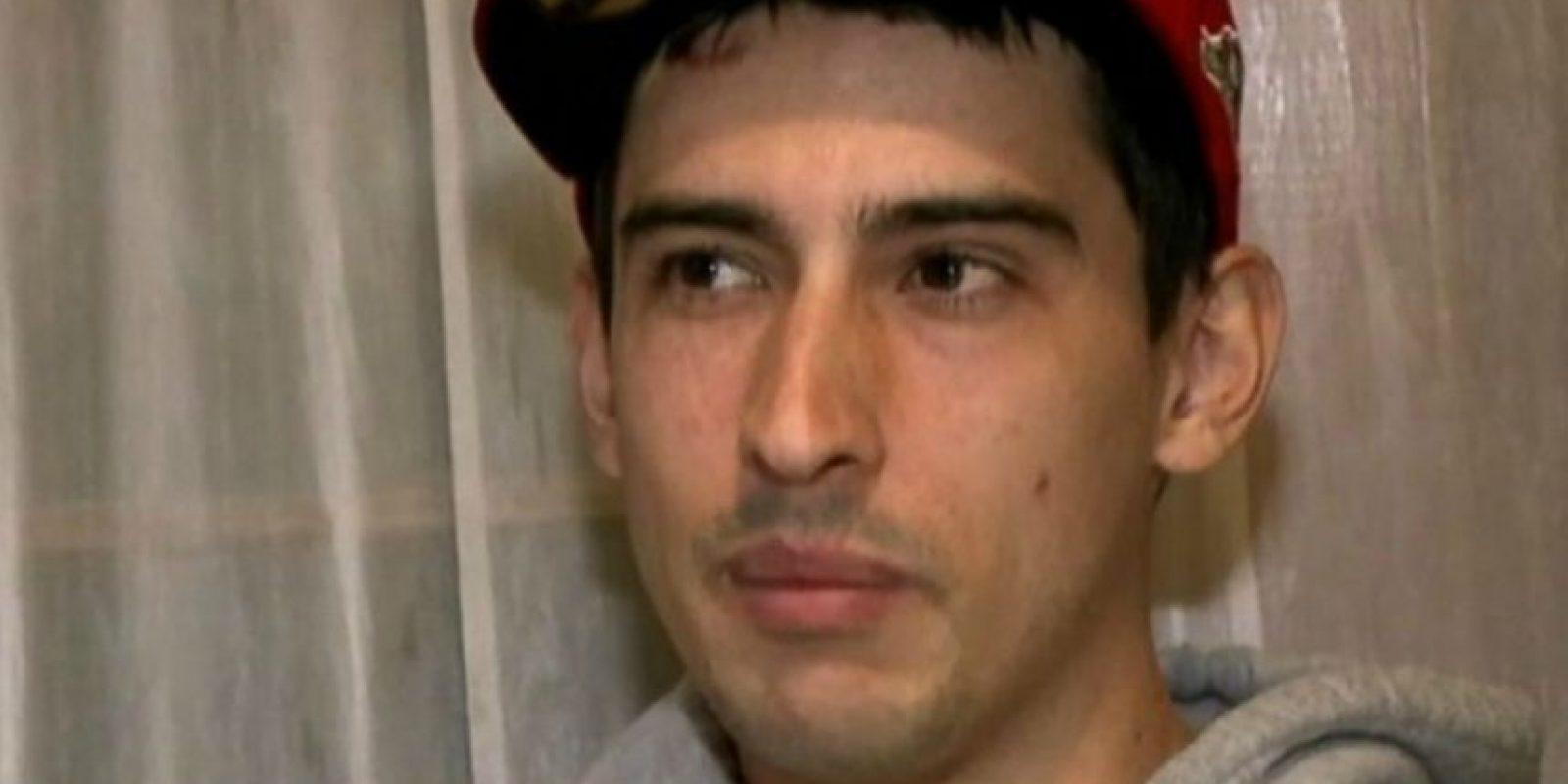 Él es Luis Ortiz de 26 años. Foto:Vía Youtube