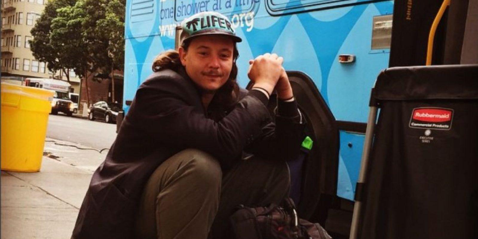 Las personas sin hogar tienen una nueva oportunidad para asearse. Foto:Vía instagram @lavamae