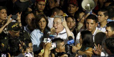 Ella mantuvo una relación con el hermano del expresidente Jaime Uribe Vélez, quien murió en 2001 Foto:AFP