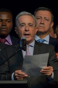 Álvaro Uribe, expresidente de Colombia Foto:AFP