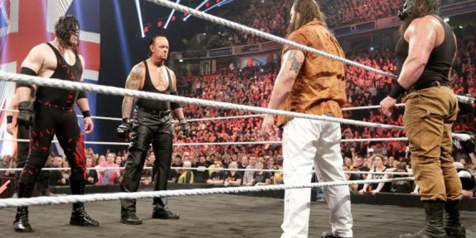 Enfrentarán a dos integrantes de la Familia Wyatt Foto:WWE
