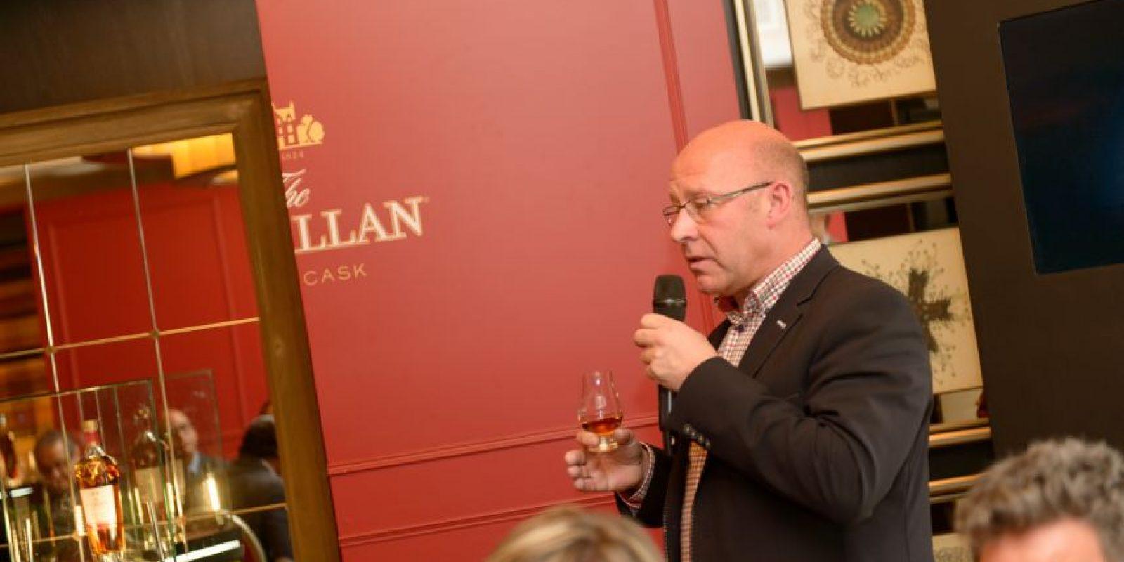 Stuart MacPherson, maestro de Madera de The Macallan. / Foto:MG PUBLIC RELATIONS