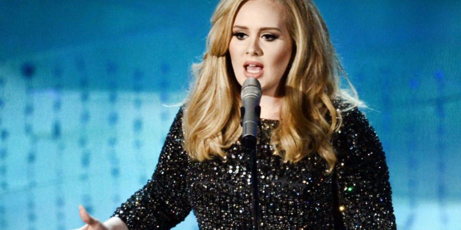 Las canciones de Adele podrían no publicarse en Spotify. Foto:Getty Images