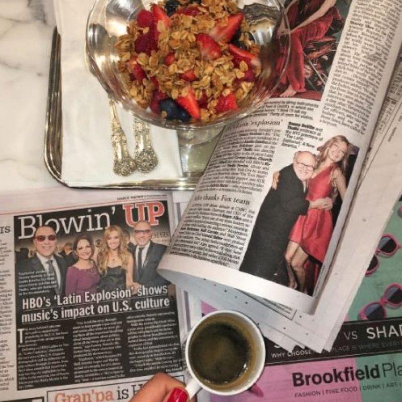 """La pasada noche del 10 de noviembre, Thalía asistió al estreno del documental """"Latin Explosion: A New America"""". Foto:Getty Images"""