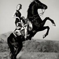 """Está alquilando la casa donde Jennifer Garner se alojó después de su divorcio. Foto:Revista """"Vogue"""""""