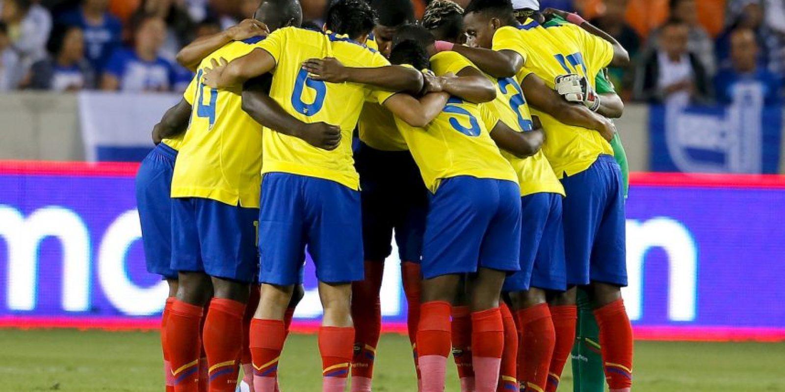 """La """"Tricolor"""" recibe a la """"Celeste"""" Foto:Getty Images"""