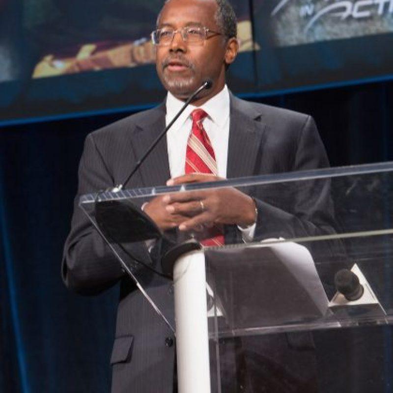Ben Carson fue uno de los focos de atención del cuarto debate republicano. Foto:Getty Images