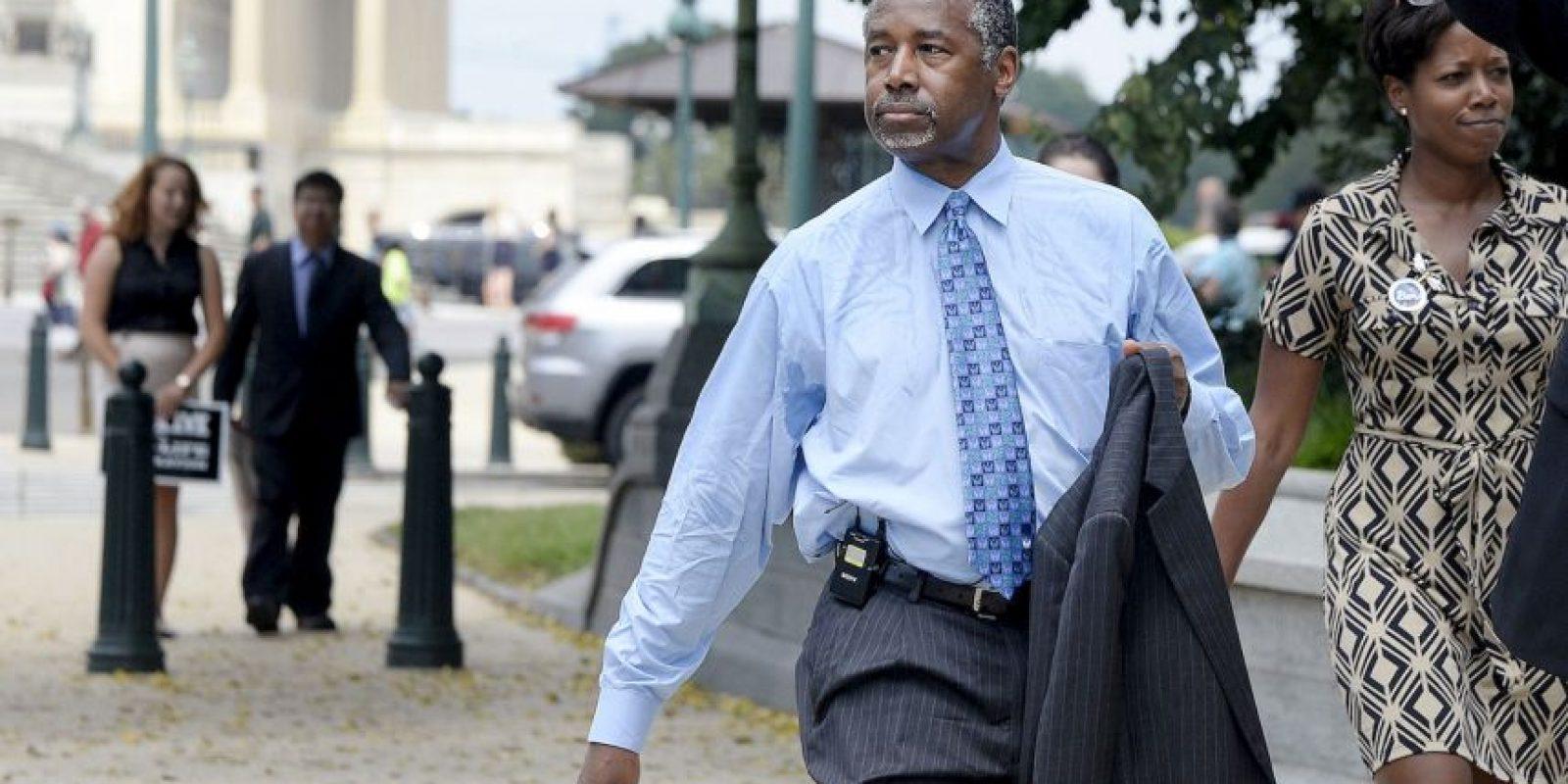 Uno de las mentiras que le reclaman es una beca que nunca recibió en la academia militar West Point. Foto:Getty Images