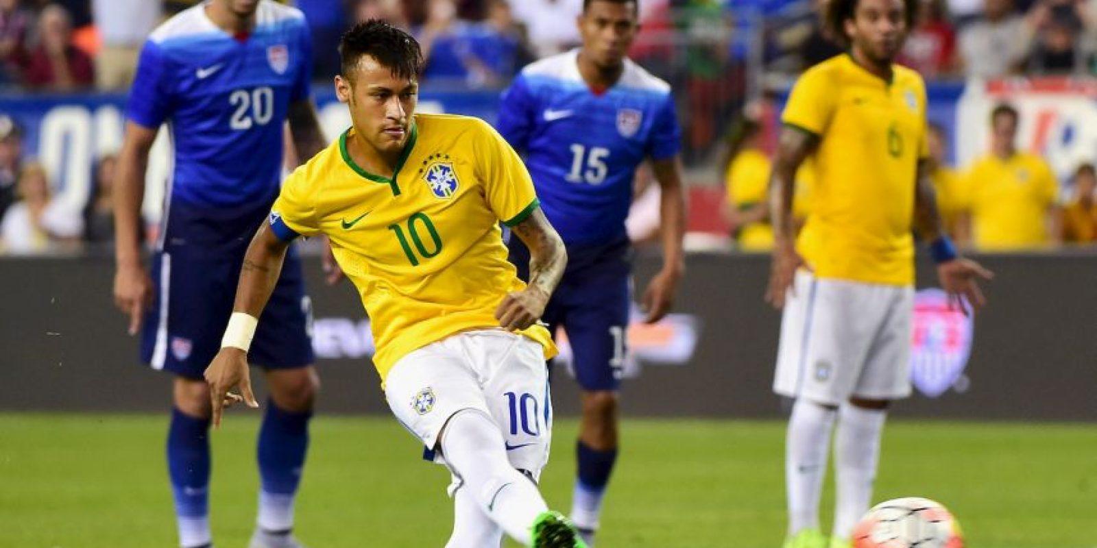 Neymar se encuentra en plan grande; es el máximo goleador de la Liga de España Foto:Getty Images