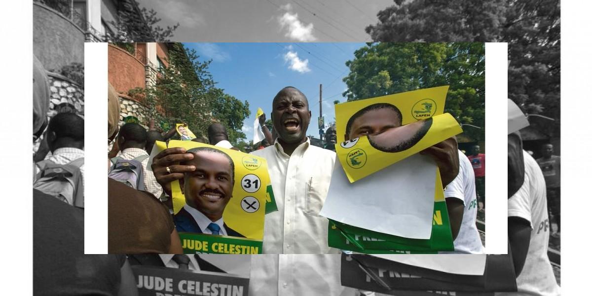 Llaman a protestar en Haití por resultados de elecciones