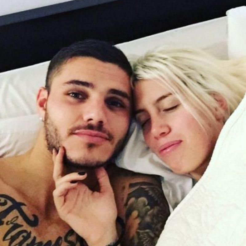 Mauro Icardi y Wanda Nara están juntos desde 2013, año en que la vedette se separó de su exesposo, Maxi López. Foto:Vía instagram.com/wanditanara
