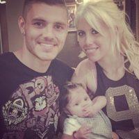 En enero de 2015 nació Francesca, la primera hija de ambos. Foto:Vía instagram.com/wanditanara