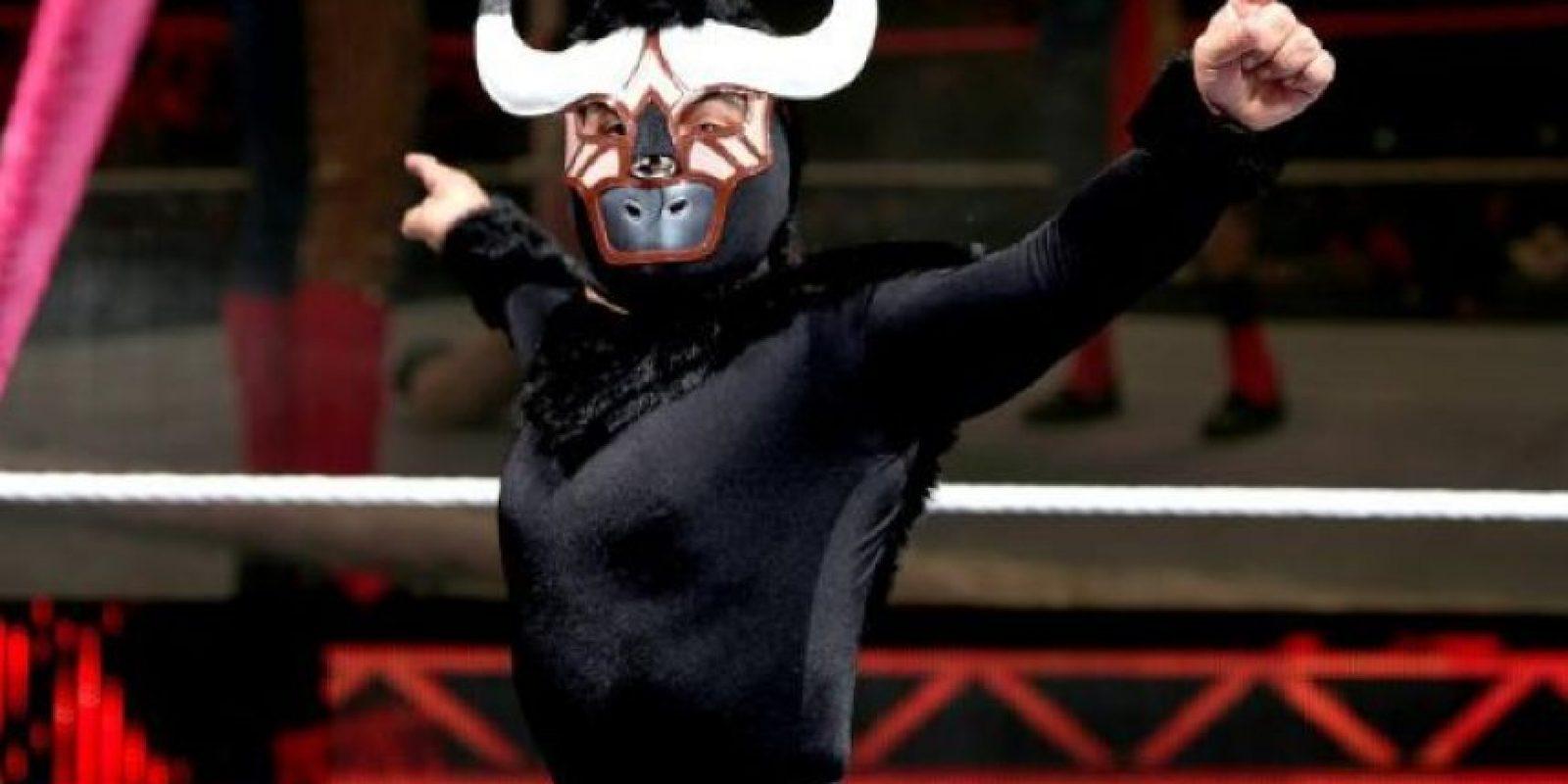 """4. El Torito. Es un mini luchador profesional. Se le conocía en la lucha libre mexicana como """"Mascarita sagrada"""". Foto:Vía Twitter"""