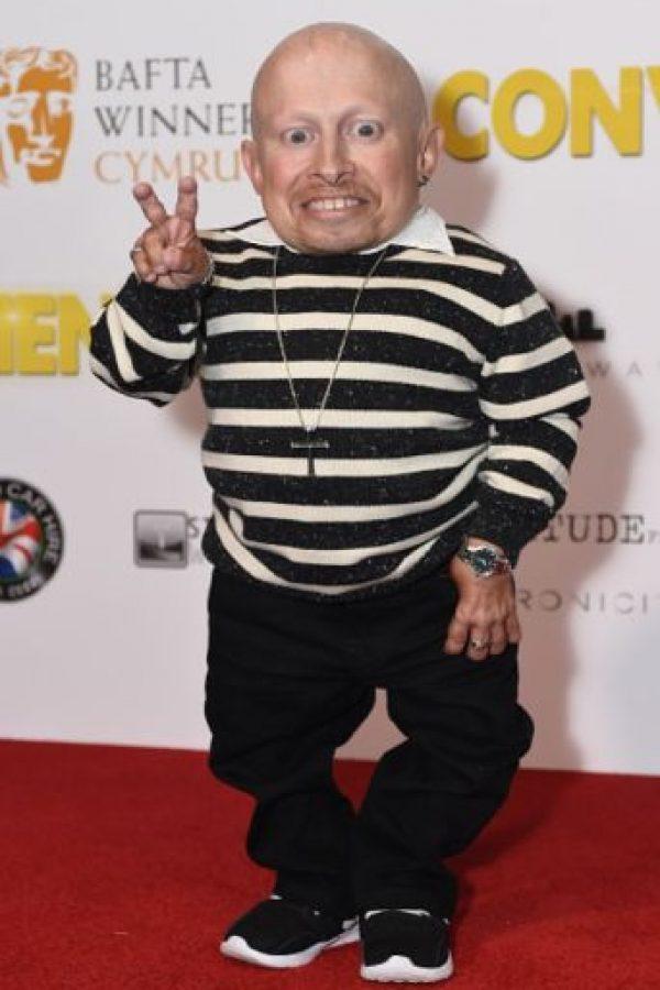 6. Verne Troyer. Es un actor estadounidense Foto:Getty Images