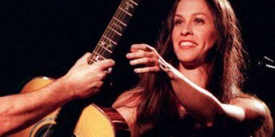 """Fotos: Así se """"embelleció"""" Alanis Morrisette, la diva del rock de los años 90"""
