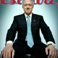 Otros memes como el siguiente del ex presidente estadounidense, Bill Clinton en el metro, propiciaron mayor popularidad a esta forma de sentarse.