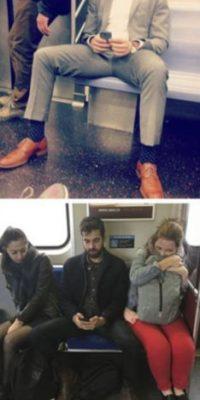 """Poco después, la federación de transporte de Nueva York anunció una campaña de sensibilización contra el manspreading (lanzada en enero de 2015) y el New York Times se hizo eco del movimiento con el titular """"Hombre, cierra tus piernas""""."""