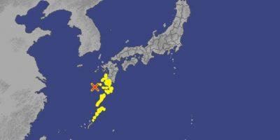 Foto:Agencia Metereológica de Japón