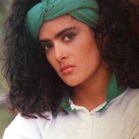 Así se veía la actriz en sus inicios. Foto:vía facebook.com/YoLeiaLaRevistaEres