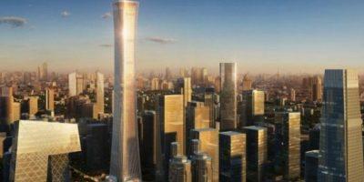 """El llamado """"China Zun"""", será el segundo edificio más alto del país. Foto:Kohn Pedersen – Skyscrapercenter.com"""