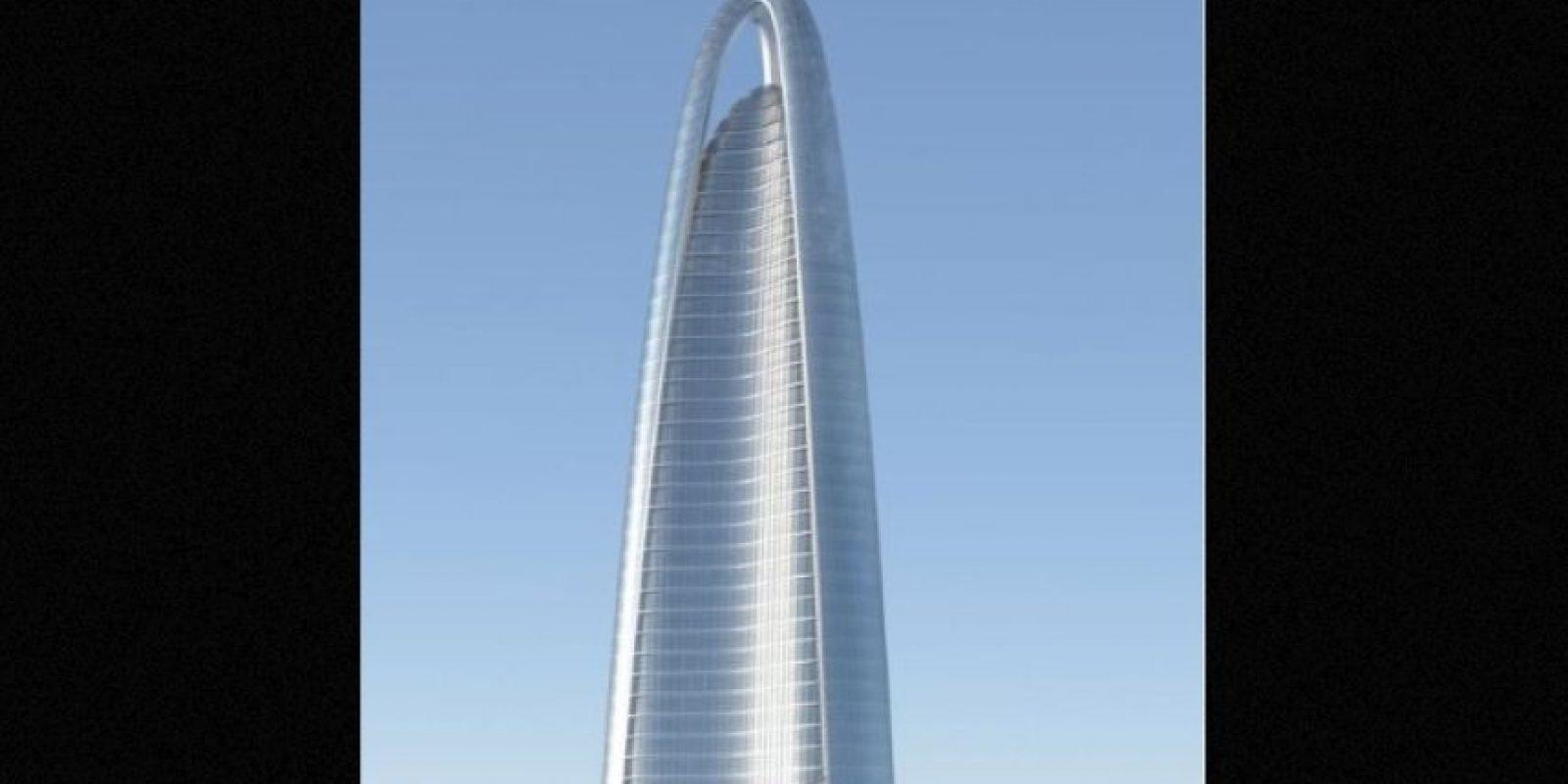 Será completado en 2017 Foto:Adrian Smith + Gordon Gill Architecture – Skyscrapercenter.com
