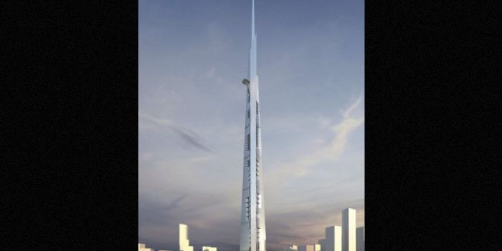 1. Kingdom Tower (Emiratos Árabes Unidos) – 167 pisos – Un kilómetro (3281 pies) de altura Foto:Adrian Smith + Gordon Gill Architecture – Skyscrapercenter.com