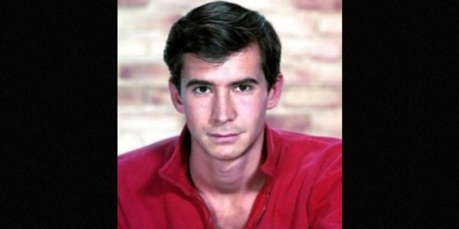 """Anthony Perkins- El actor estadounidense falleció en 1992. Su conocido por su participación en la película """"Psycho"""". Foto:IMDb"""