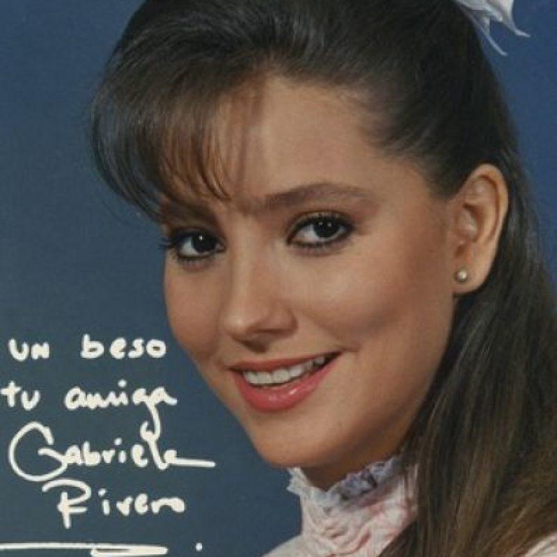 """Es mejor recordada por su personaje de la maestra """"Jimena"""" en la telenovela mexicana """"Carrusel"""". Foto:www.gabyrivero.com"""