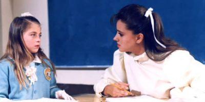 """Fue la conductora del programa """"El club de Gaby"""" en 1994. Foto:Televisa"""