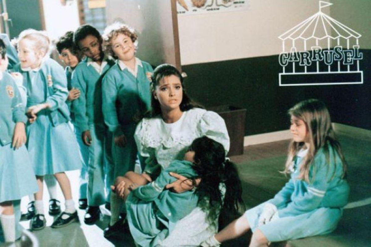 """""""Carrusel"""" es una novela emitida en 1989. Foto:Televisa"""