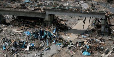 Fue el 11 de marzo de 2011, después de que un sismo magnitud 9.1 en la Escala de Richter sacudiera el país. Murieron 15 mil 893 personas Foto:Getty Images