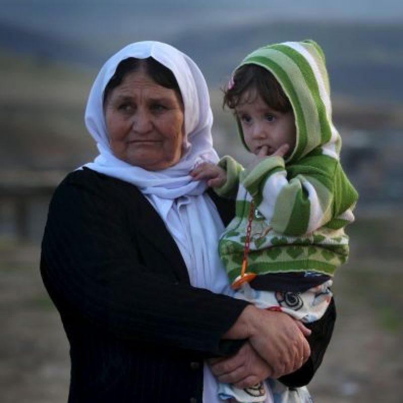 Hoy, las fuerzas militares kurdas lograron su liberación Foto:Getty Images