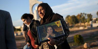 Decenas de Yazidíes regresaron este día a la ciudad de Sinyar, en Irak. Foto:Getty Images