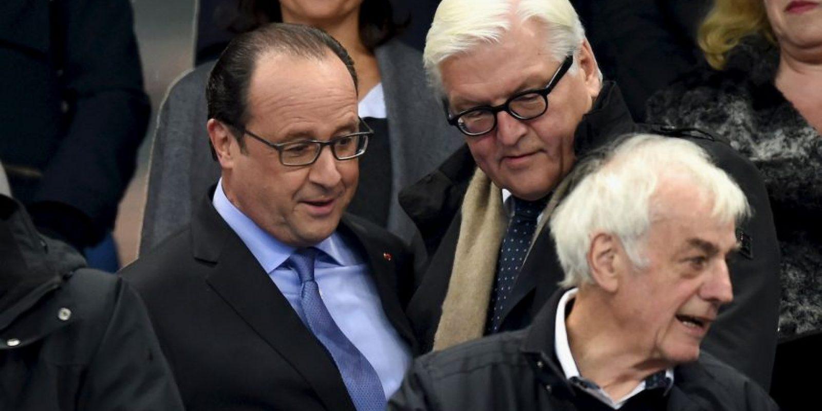 Tras las explosiones cercanas a Saint Dennis, el presidente de Francia, Francois Hollande, fue evacuado del lugar. Foto:Getty Images