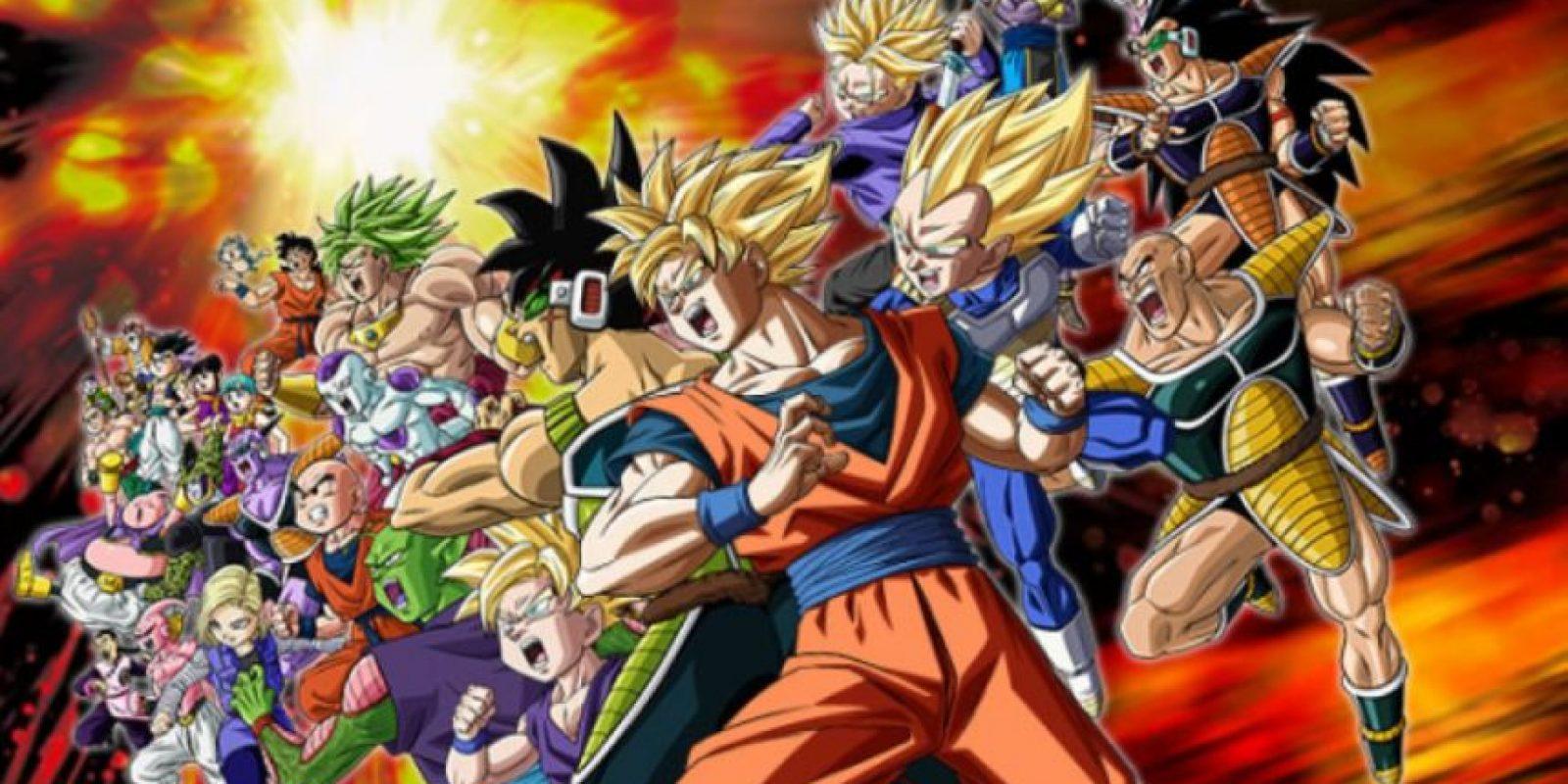 """Dragon Ball Z"" es sagrado. Foto:vía Toei"