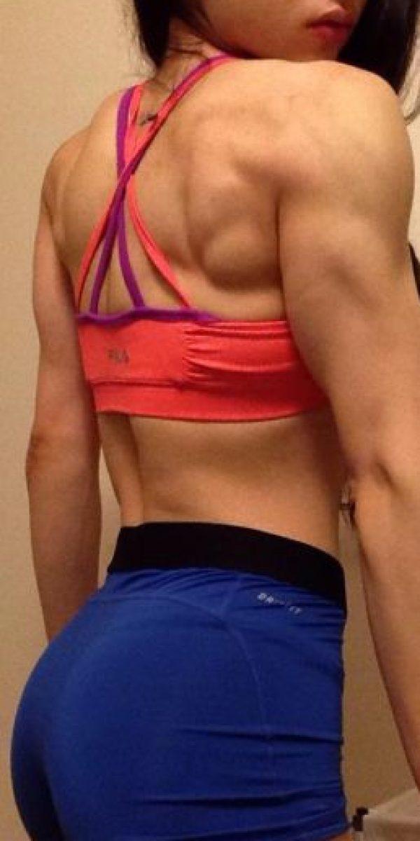Ahora es toda una estrella fitness. Foto:vía Instagram/fightforgrowth