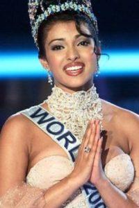 """Priyanka Chopra fue """"Miss World"""" en el año 2000. Foto:vía Getty Images"""