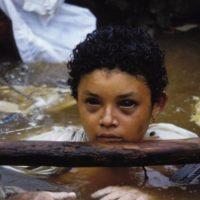 Omaira Sánchez agonizó 13 horas frente a las cámaras. Foto:vía Getty Images