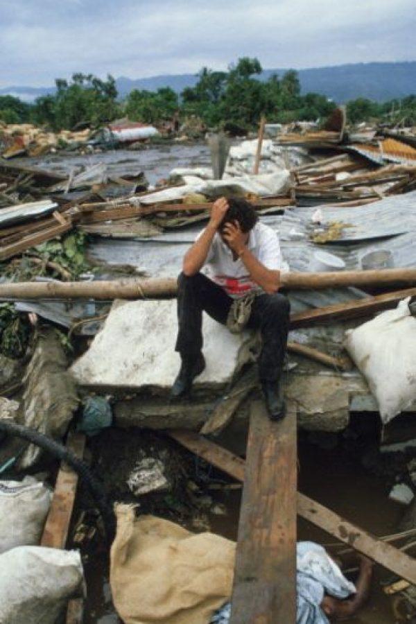 Solo ruina. Cadáveres. Desolación. Foto:vía Getty Images
