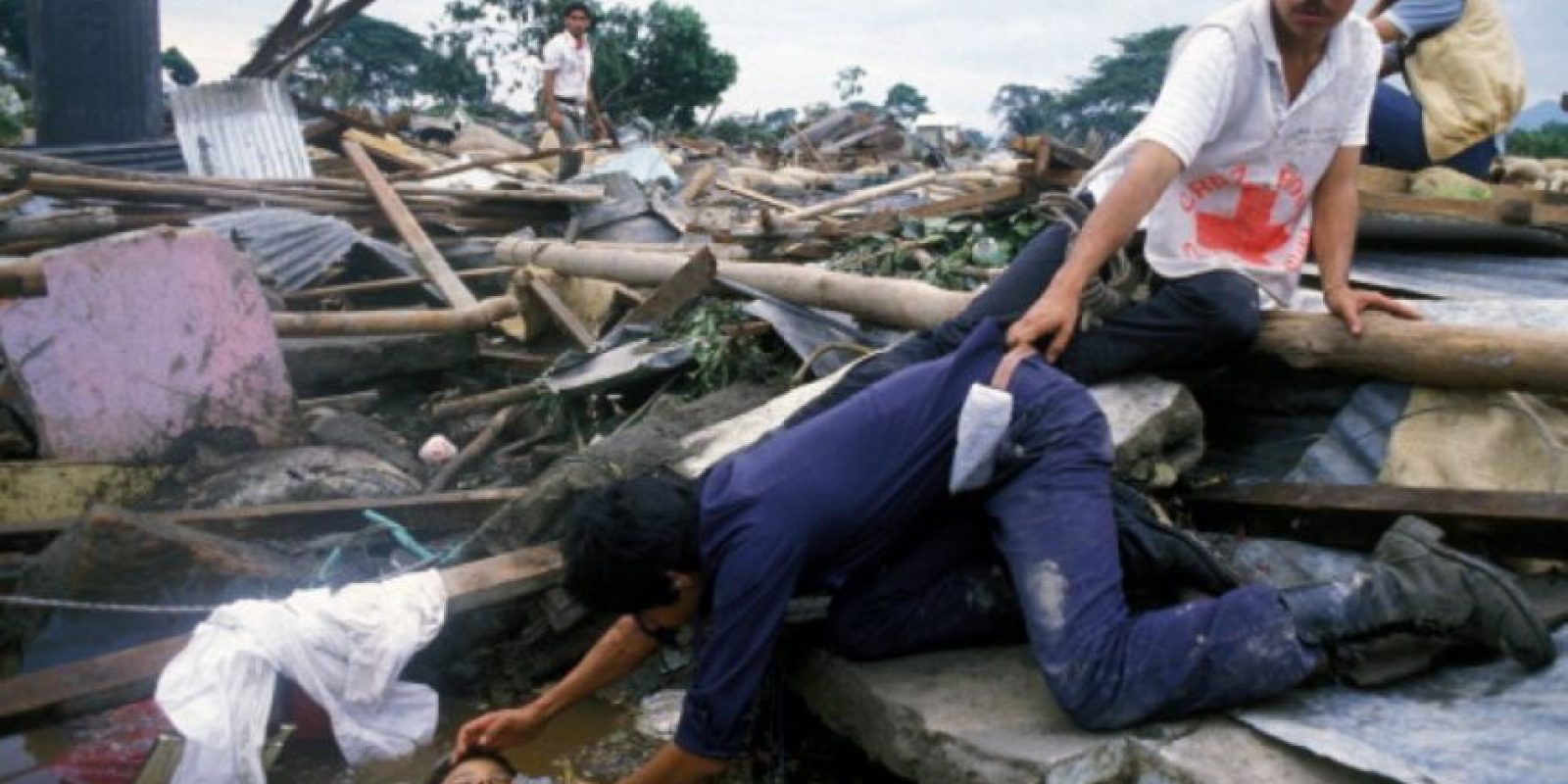 Sus socorristas quedaron desconsolados. Foto:vía Getty Images