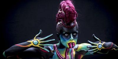 Festival Mundial de Bodypaint 2015 Foto:Getty Images