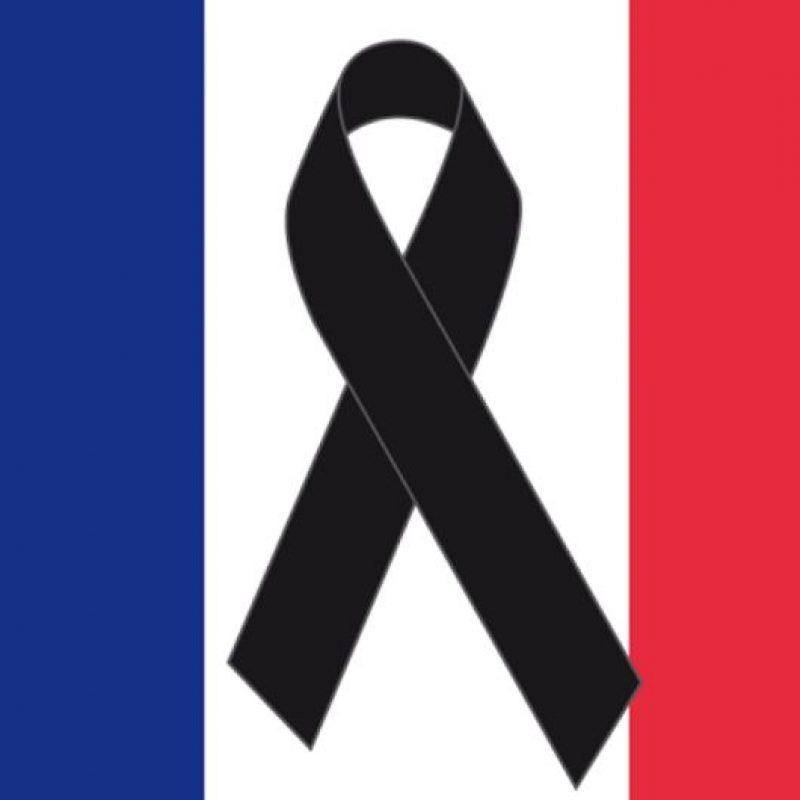 Se solidarizan con Francia por lo que está viviendo. Foto:vía Instagram