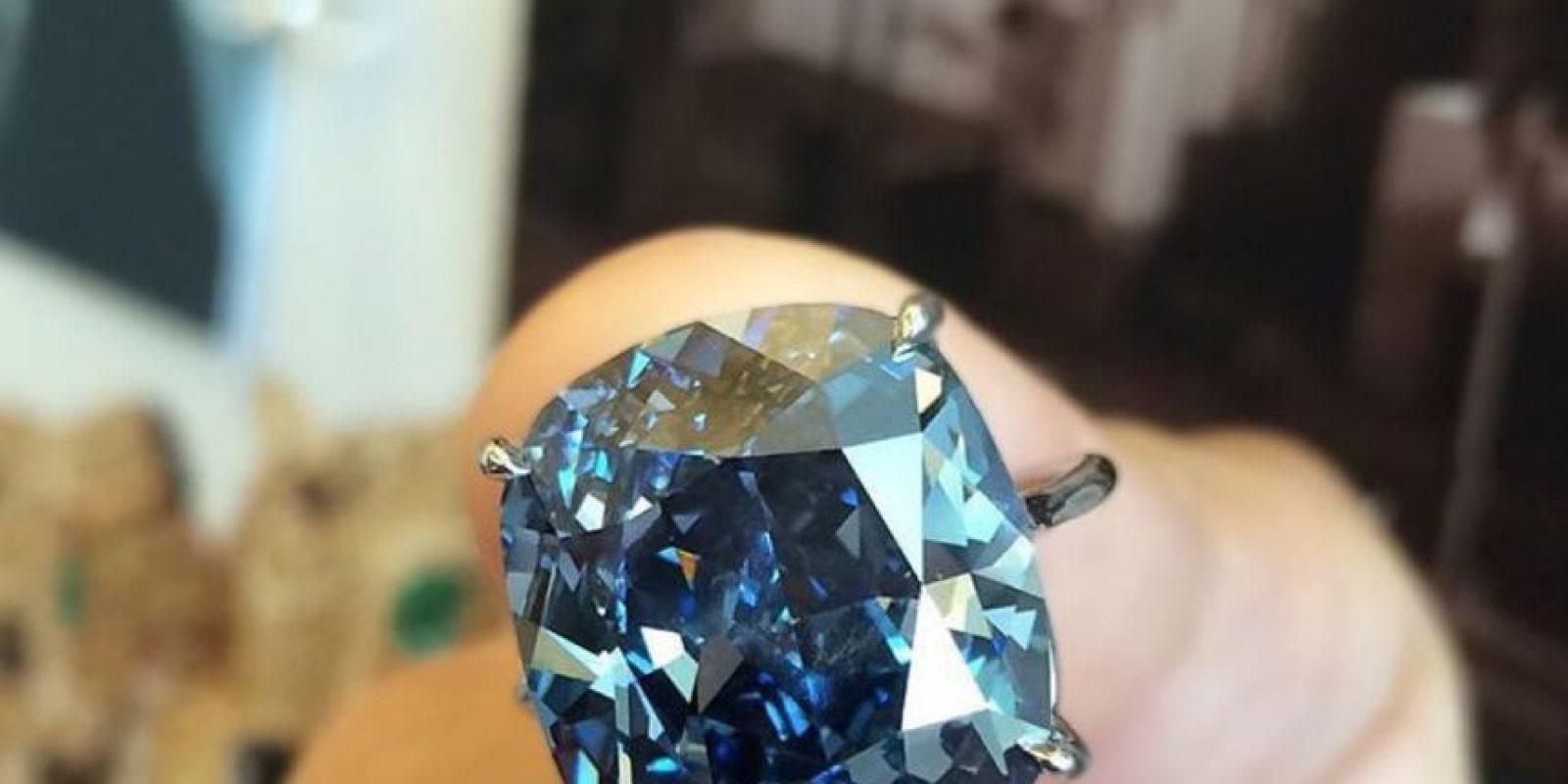 Este diamante costó 48.4 millones de dólares Foto:Vía instagram.com/sothebys
