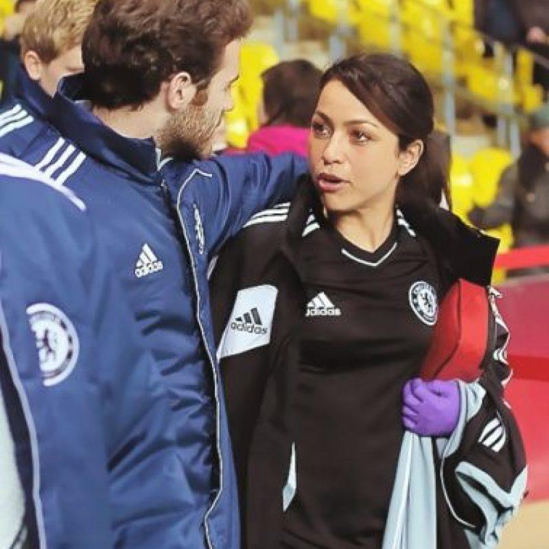 """En 2011, cuando los """"Blues"""" eran dirigidos por André Villas-Boas, Eva fue ascendida para trabajar con el primer equipo, puesto que siguió desempeñando a pesar de la renuncia del portugués en 2012. Foto:Tumblr"""