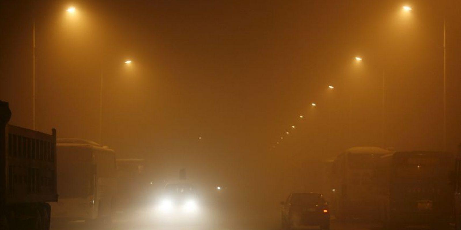 4. Las personas que ya están enfermas son las más afectadas por la contaminación del aire. Foto:AFP