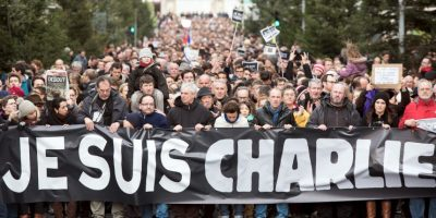 Yihadistas irrumpieron en las oficinas de la revista francesa Charlie Hebdo y asesinaron a 12 personas, entre ellas dibujantes y periodistas. Foto:AFP
