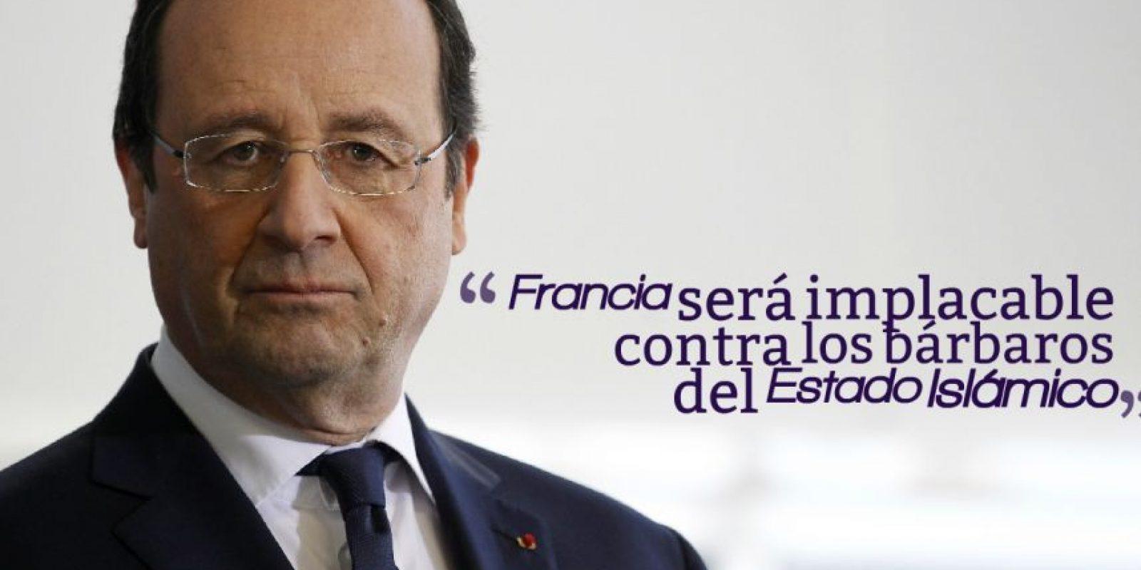 FRANCOIS HOLLANDE, Presidente de Francia. Foto:Getty Images
